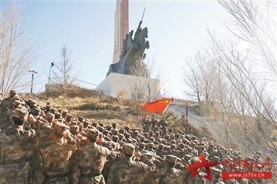 戍边人心中的北国风光图片