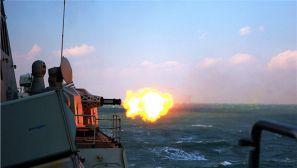 离港即战斗 某驱逐舰支队东海实弹射击