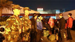 全国春运看广东丨备战广州春运,武警这样做