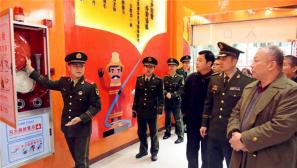 拥军爱军 相沿成习:春节慰问走进消防官兵