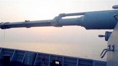 北部战区海军某护卫舰支队秦皇岛舰春节巡逻在海疆
