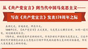 170周年|从《共产党宣言》到当代中国马克思主义
