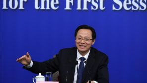 高清图集:农业部部长韩长赋等答记者问