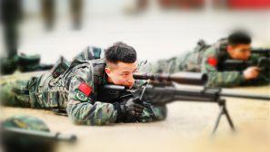 霸气,武警特战反恐训练耐力与智慧并存
