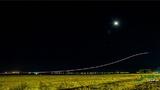 """""""飞豹""""夜训 化身夜空中最亮的星"""