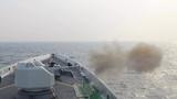 连续出海8天,日照舰组织多科目海上训练
