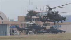东南沿海  陆军航空兵大机群战备出动演练