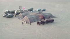 战略支援部队某部按实战要求开展野外演训