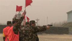 武警部队领导机关立起备战打仗的指挥棒
