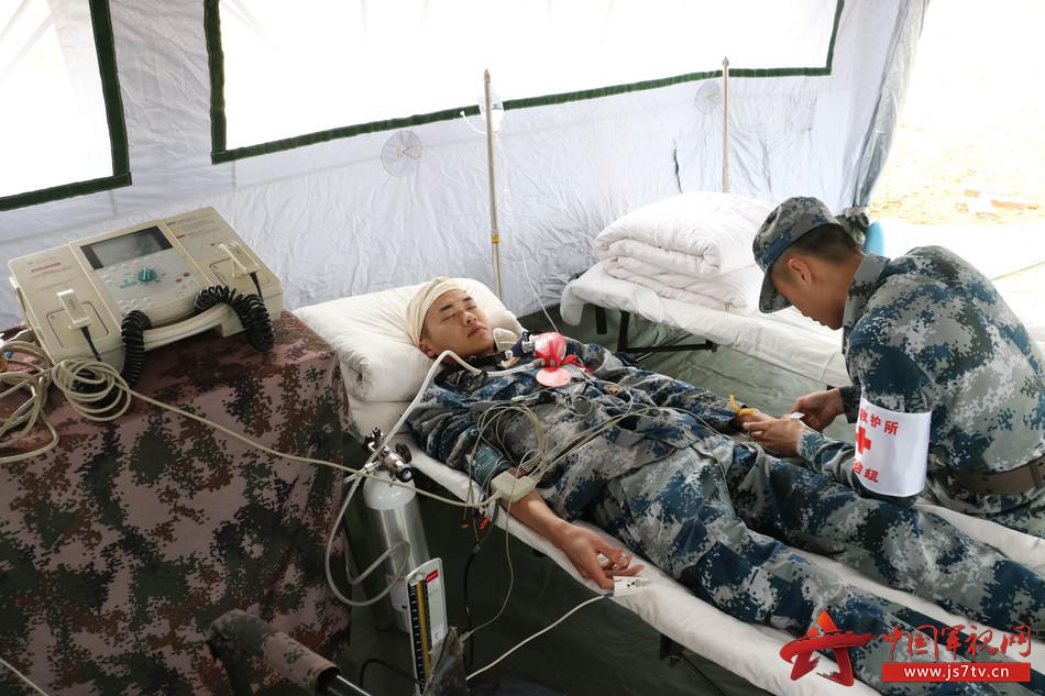 图10,重伤组救治伤病员