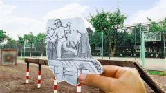手绘:与军校风景的别样邂逅