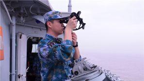 春雷响,千帆竞:去海上看实弹射击训练