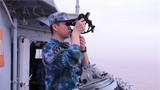 某驱逐舰支队开展实弹射击训练