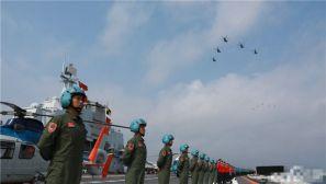 气势如虹!中央军委在南海海域隆重举行海上阅兵