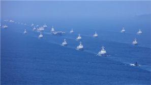 新中国史上最大海上阅兵,这些画面令人震撼