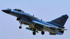 中国空军新型战机歼10C开始战斗值班