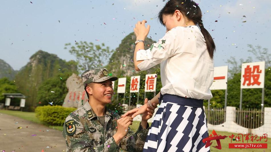 图1.求婚仪式.(叶嘉健摄)