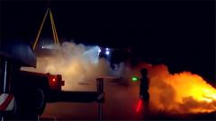 火箭军某旅:午夜转载 感受真实战场环境