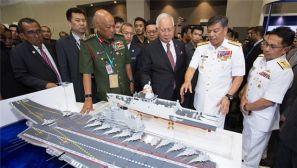 高清:中国军工亮相马来西亚亚洲防务展