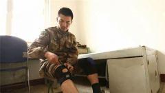 习朝峰:护膝勒到最紧,就为完成阅兵训练