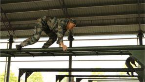 联考正当时:看军校学员们如何战胜四百米障碍