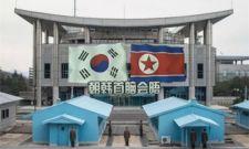 韩筹委首次在板门店进行韩朝首脑会谈排练