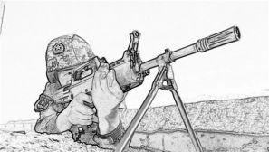 清新素描|维和工兵勇士的别样风采