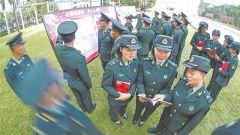 第75集团军某旅主题教育用兵言兵语讲大道理