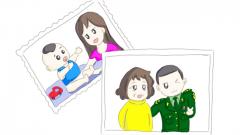 【漫画】母亲的目光送我去远航