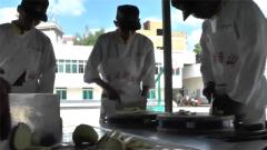 武警云南机动某支队举行初级厨师集训