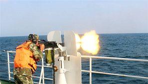 武警广东:直击海上实弹射击现场