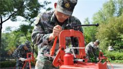 围观!勤务保障兵的群众性练兵比武训练