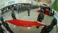 勇士出征 第六批赴马里维和部队出征