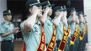 第77集团军:退伍转业不褪色