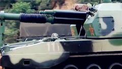 战神怒吼!看新型自行火炮直瞄射击有多猛