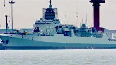3艘055与2艘052罕见同框,海军战力再次暴走