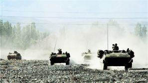 战车轰鸣 直击实战化战备拉动演练