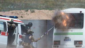 集安组织成员国特种部队举行联合战术演习