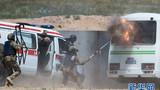   独联体集体安全条约组织(集安组织)成员国特种部队20日至22日在哈萨克斯坦境内举行联合战术演习,来自俄罗斯、哈萨克斯坦、白俄罗斯、吉尔吉斯斯坦、亚美尼亚、塔吉克斯坦六个集安组织成员国的700多名特种部队士兵参加演习,并出动70多台武器装备、5架军用飞机。演习模拟成员国特种部队通过联合行动摧毁当地非法武装组织的场景,旨在提高集安组织成员国特种部队在联合行动中的协调能力。