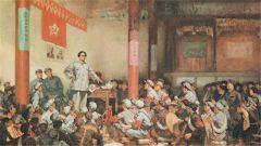 朱毛红军面临生死存 在古田确立了思想建党