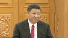 习近平与德国总理默克尔举行会晤(视频)