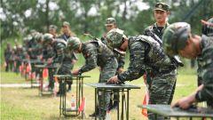 硝烟起、战味浓,武警江苏总队特战队员挑战体能极限