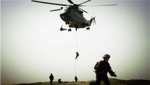 第75集团军某部空地协同训练 构造立体作战网
