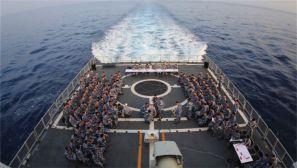 """远海大洋 第二十九批护航编队上演比武""""大戏"""""""