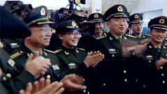 習主席接見的軍隊代表 這樣講述他們的激動時刻
