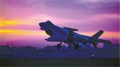 歼20展翅,飞出空天新航迹