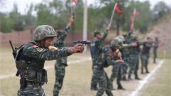 武警宁夏总队举行特战分队干部骨干比武竞赛