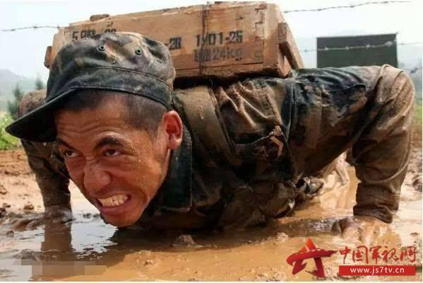 致敬中国军人,最可爱的人
