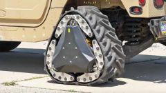 美军新型战车黑科技:圆形车轮秒变三角