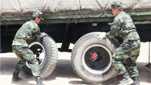 武警青海总队执勤支队全面提高保障能力